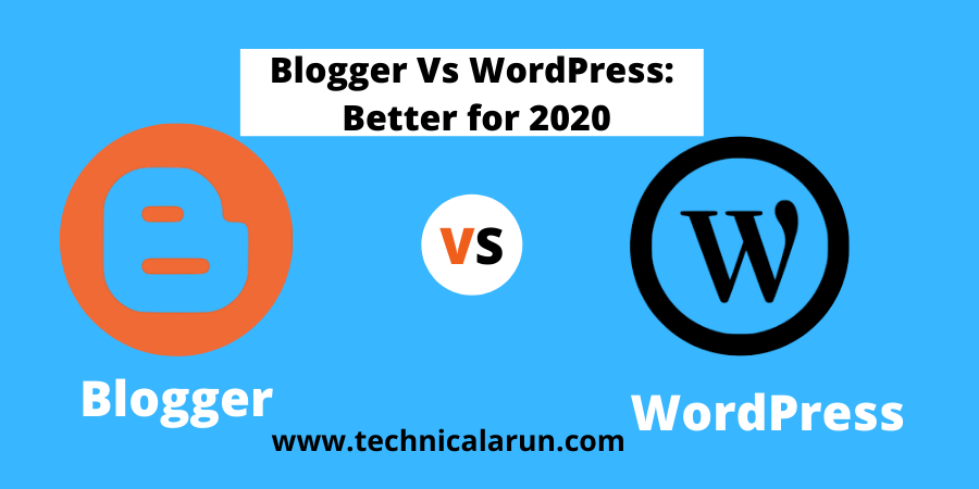 WordPress vs Blogger in Hindi